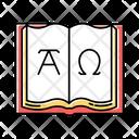 Alpha And Omega Alpha Omega Icon