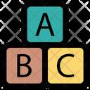 Alphabet Abc Block Box Icon