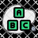 Abc Block Abc Cube Alphabet Block Icon
