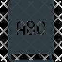 Alphabet Book School Icon