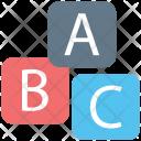 Alphabet Blocks Alphabets Icon