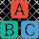 Abc Block Alphabet Icon
