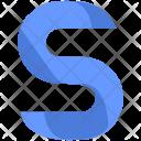 S Design Letter Icon