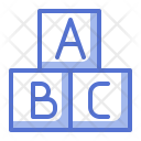 Alphabet Block Icon