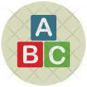 Alphabet Blocks Study Icon