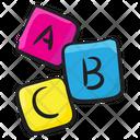 Alphabet Blocks Abc Blocks Education Icon