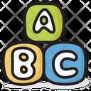 Alphabet Blocks Abc Block Education Icon