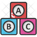 Alphabets Blocks Abc Icon