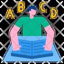 Alphabet Book Alphabet Book Icon