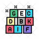 Alphabet Cube Alphabet Cubes Icon