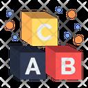 Alphabet Cubes Icon