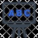 Blackboard Education School Icon
