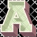 Alphabet Letter A Icon
