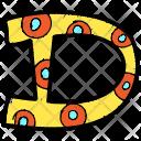Alphabet Letter D Icon