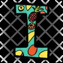 Alphabet Letter I Icon
