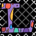 Alphabet Letter L Icon