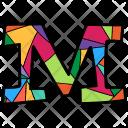 Alphabet Letter M Icon