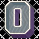 O Letter Capital Icon