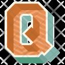 Q Letter Capital Icon