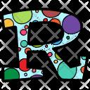Alphabet Letter R Icon