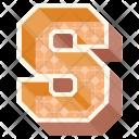 Alphabet Letter S Icon