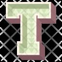 Alphabet Letter T Icon