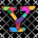 Alphabet Letter Y Icon