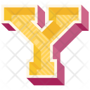 Y Letter Capital Icon