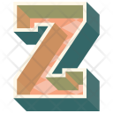 Alphabet Letter Z Icon