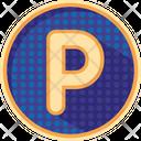 Alphabet p Icon