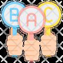 Alphabet Rating Icon