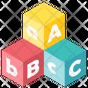 Alphabet toys Icon