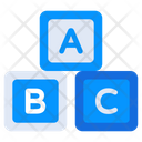 Alphabetic  Blocks Icon