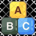 Alphabetic Blocks Icon