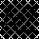 Alphabetic Sorting Z Icon