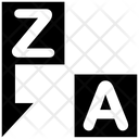 Alphabetical Order Icon