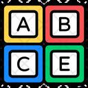Alphabetics Blocks Icon