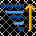 Alphabetize Ascending Ascent Icon