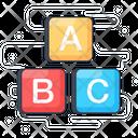 Alphabets Abc English Letters Icon