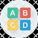 Alphabets Primary Alphabet Icon