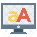 Alphabets Font Text Icon