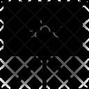 Alphabets Blackboard Chalkboard Icon