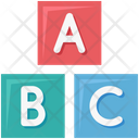 Alphabets Cubes Primary Cubes Icon