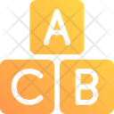 Alphabets Abc Kindergarten Icon