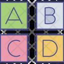 Abc Letters Education Icon