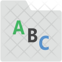 Alphabets Folder Icon