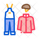 Alpinism Clothes Vacation Icon