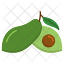 Alpukat Fruit Healthy Icon