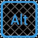 Alt Function Keyboard Icon