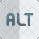 Alt Alt Key Alter Icon